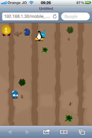 Donkey Game Mobile Screen